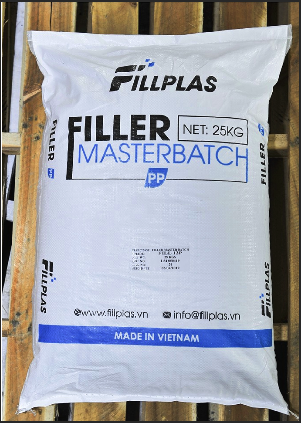 PP filler masterbatch bag fillplas manufacturer