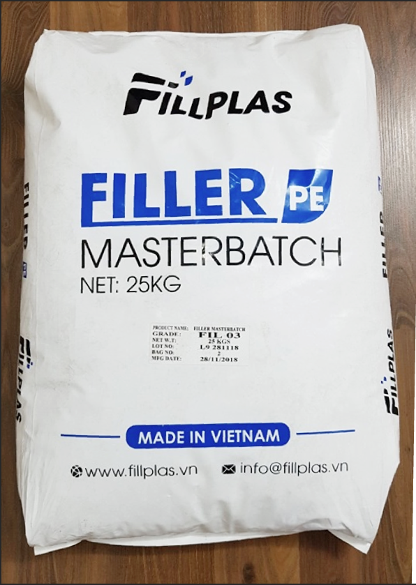 Pe filler masterbatch bag fillplas company