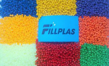 Color masterbatch Fillplas plastic material