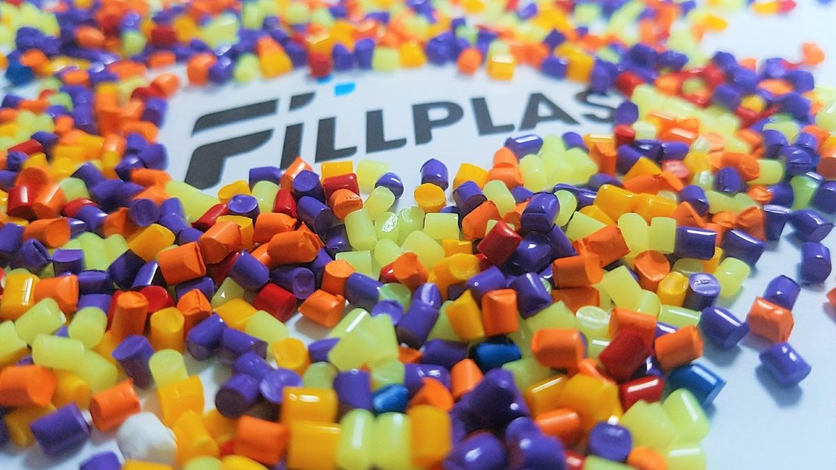Masterbatches Fillplas material for plastic products